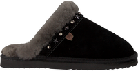 Zwarte WARMBAT Pantoffels FLURRY WOMEN STUDS - medium