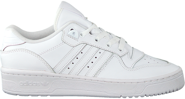 Witte ADIDAS Lage sneakers RIVALRY LOW W