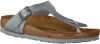 Grijze BIRKENSTOCK PAPILLIO Slippers GIZEH ANIMAL FASCINATION  - small