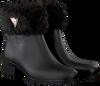 Zwarte GUESS Regenlaarzen FLVNT3 RUB09  - small