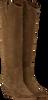 Cognac BRONX Hoge laarzen LOW-KOLE 14188  - small