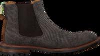 Grijze FLORIS VAN BOMMEL Chelsea boots 20093  - medium