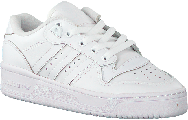 Witte ADIDAS Sneakers RIVALRY LOW J  - large
