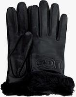 Zwarte UGG Handschoenen CLASSIC LOGO GLOVE  - medium