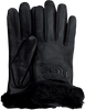 Zwarte UGG Handschoenen CLASSIC LOGO GLOVE  - small