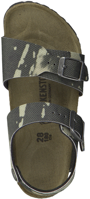 Groene BIRKENSTOCK PAPILLIO Sandalen NEW YORK CITY KIDS  - large