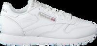 Witte REEBOK Sneakers CL LEATHER WMN - medium