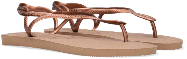 Gouden HAVAIANAS Slippers LUNA  - large