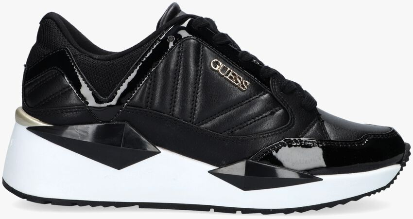 Zwarte GUESS Lage sneakers TRAVES  - larger