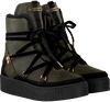 Groene TOMMY HILFIGER Enkelboots COZY WARMLINED LEATHER BOOT - small