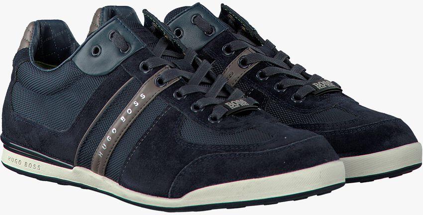Blauwe BOSS Sneakers AKEEN  - larger