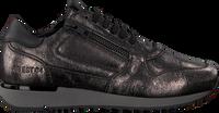Zwarte RED-RAG Lage sneakers 76816  - medium