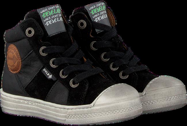 Zwarte DEVELAB Hoge sneaker 41697  - large