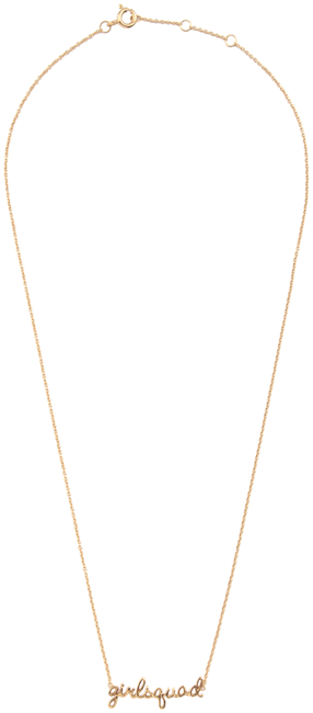 Gouden ATLITW STUDIO Ketting URBAN NECKLACE GIRLSQUAD - large