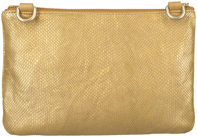 Gouden FRED DE LA BRETONIERE Schoudertas CROSS BODY S  - large