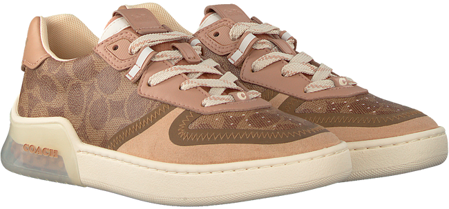 Bruine COACH Lage sneakers ADB SIG PVC COURT  - large