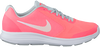 Roze NIKE Sneakers REVOLUTION 3 KIDS  - small
