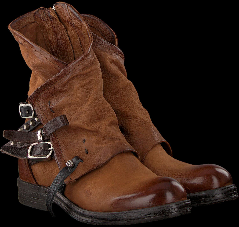 Cognac A.s.98 Biker Boots 207235