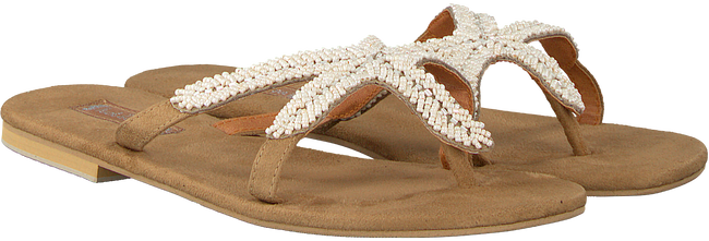 Beige HOT LAVA Slippers STARFISH - large
