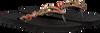 Zwarte UZURII Slippers COLORFUL DIANA - small