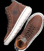 Cognac DEVELAB Hoge sneaker 41981  - medium