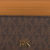Bruine MICHAEL KORS Portemonnee MONEY PIECES ZA COIN CARD CASE  - small