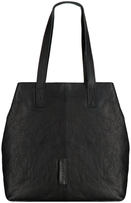 Zwarte SHABBIES Shopper 282020029  - large