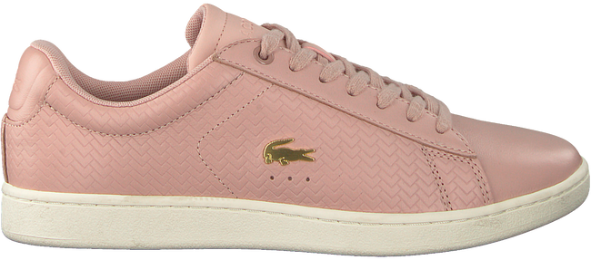 Roze LACOSTE Sneakers CARNABY EVO DAMES  - large