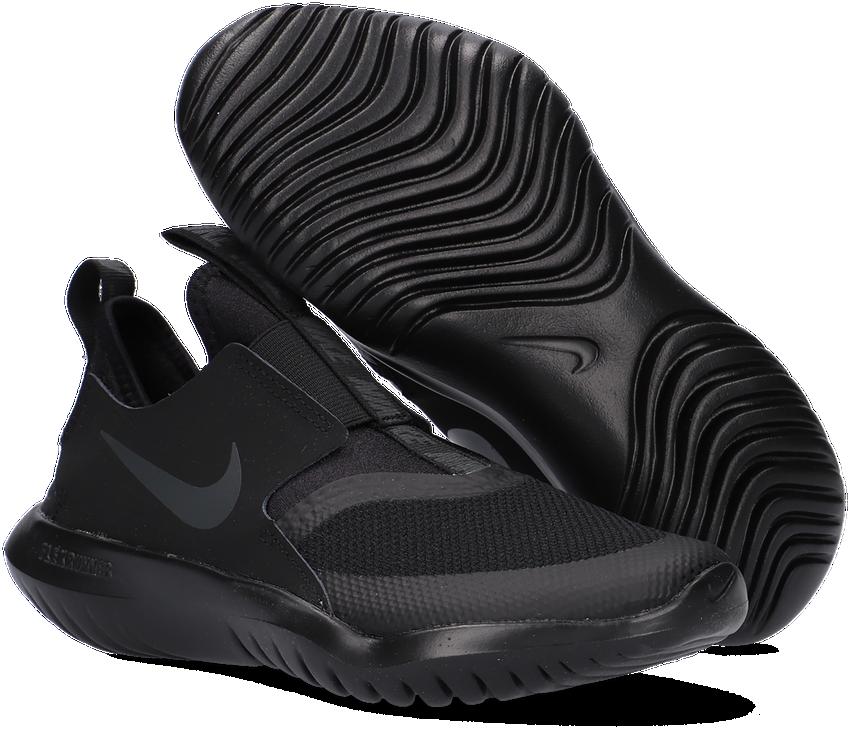 Zwarte NIKE Lage sneakers FLEX RUNNER (GS)  - larger