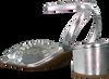 Zilveren MICHAEL KORS Sandalen BELLA FLEX MID - small