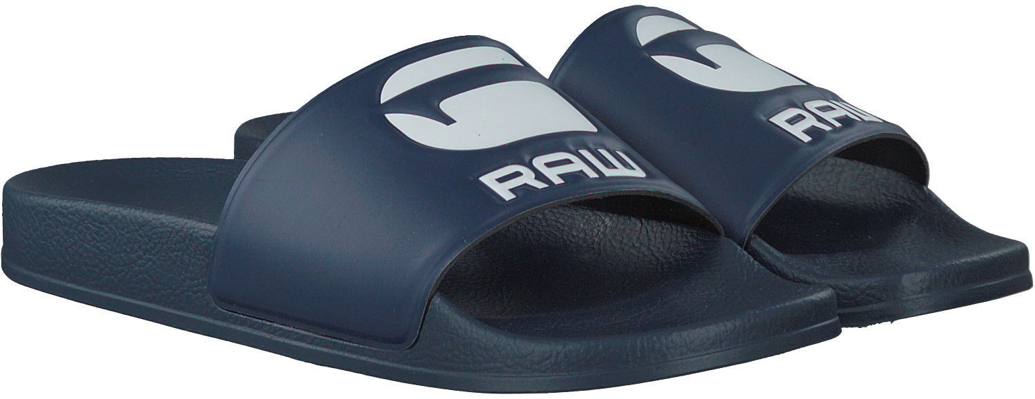 Bruine G STAR RAW Slippers CART SLIDE II DAMES | Omoda