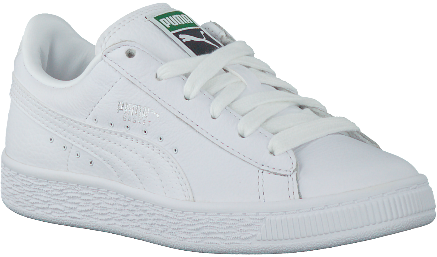 Witte PUMA Sneakers BASKET CLASSIC L BTS | Omoda