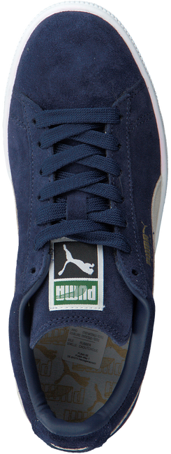 Blauwe PUMA Sneakers SUEDE CLASSIC+ DAMES  - large
