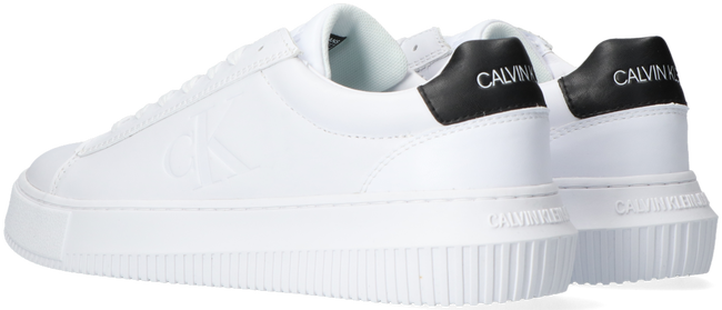 Witte CALVIN KLEIN Lage sneakers CHUNKY SOLE SNEAKER LACEUP  - large