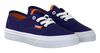 Blauwe VANS Sneakers K AUTHENTIC  - small