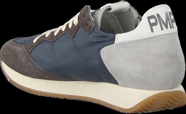 Grijze PHILIPPE MODEL Sneakers MONACO VINTAGE  - large