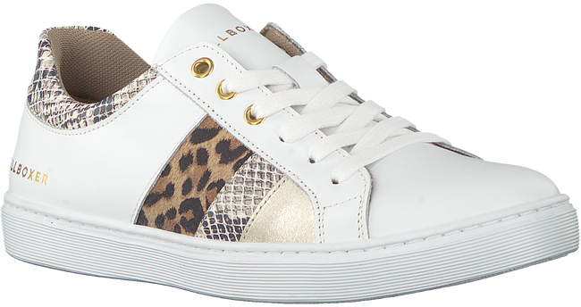 Witte BULLBOXER Lage sneakers AHM031E5L  - large