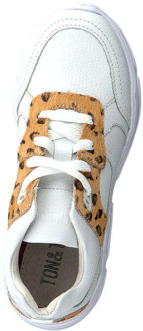 Witte TON & TON Lage sneakers OM120280  - large