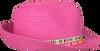 Roze ROMANO SHAWLS AMSTERDAM Hoed BORSO PAPER  - small
