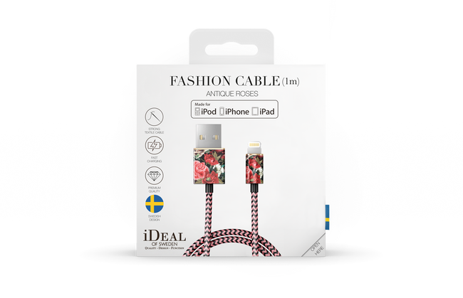 Rode IDEAL OF SWEDEN Oplaadkabel FASHION CABLE 1M - large