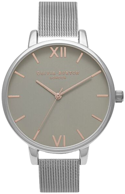 Zilveren OLIVIA BURTON Horloge BIG DIAL - large