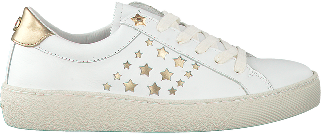 Witte TOMMY HILFIGER Sneakers S1285UZIE 2A4  - large