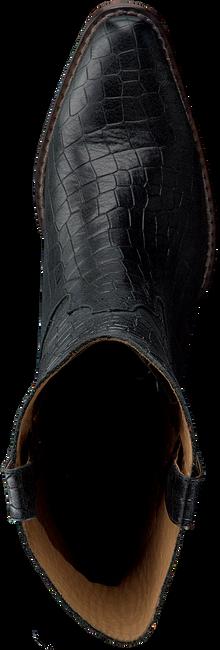 Zwarte SHABBIES Enkellaarsjes 192020067 SHS0437  - large