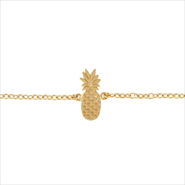 Gouden ALLTHELUCKINTHEWORLD Armband ELEMENTS BRACELET TALL PINEAPP - large