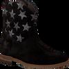 Zwarte CLIC! Lange laarzen 8698  - small