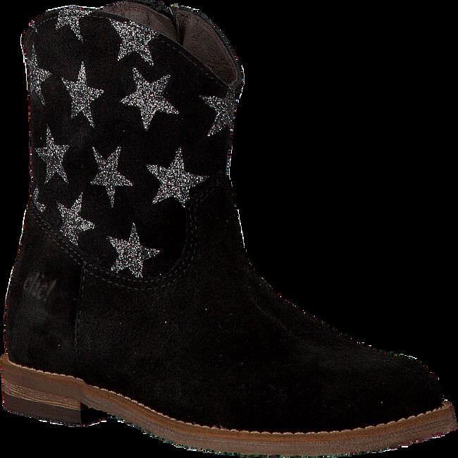 Zwarte CLIC! Lange laarzen 8698  - large