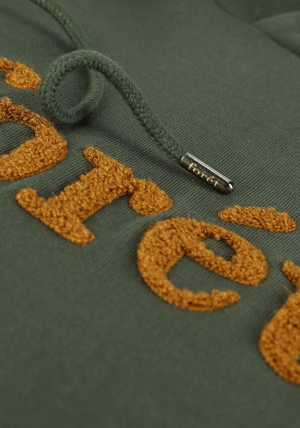 Donkergroene FORÉT Sweater MAPLE - larger