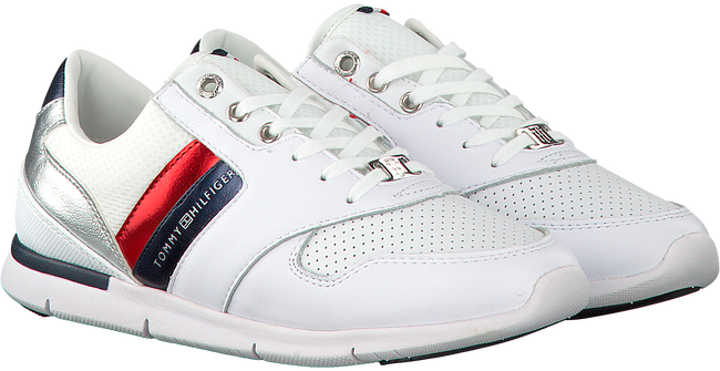 Witte TOMMY HILFIGER Sneakers LIGHT WEIGHT LEATHER SNEAKER  - large