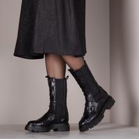 Zwarte NOTRE-V Chelsea boots 01-612 - medium