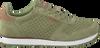 Groene WODEN Lage sneakers YDUN SUEDE MESH  - small